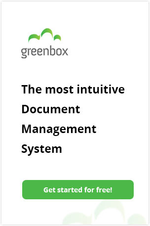 Greenbox the most intuitive document management system